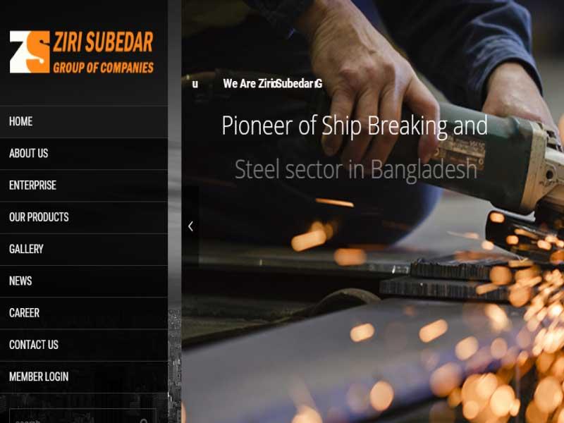 Portfolio Zirisubedar Website